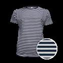 Pruhované tričko Bílo-Modré AF- pánské