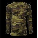 Vojenské tričko - Military pánské dlouhé