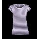 Pruhované tričko Bílo-Modré Anne - dámské