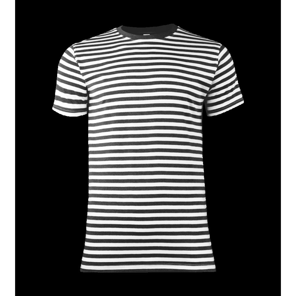 8b7cc0ea873 ... Pruhované tričko Bílo-černé dirk- pánské ...