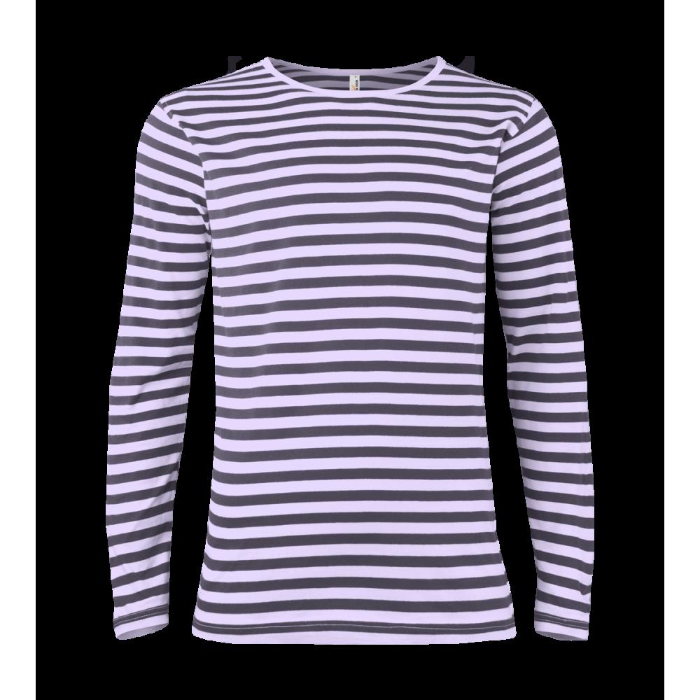 ... Pruhované tričko dlouhe Bílo-Modré - pánské ... eea03f5e50