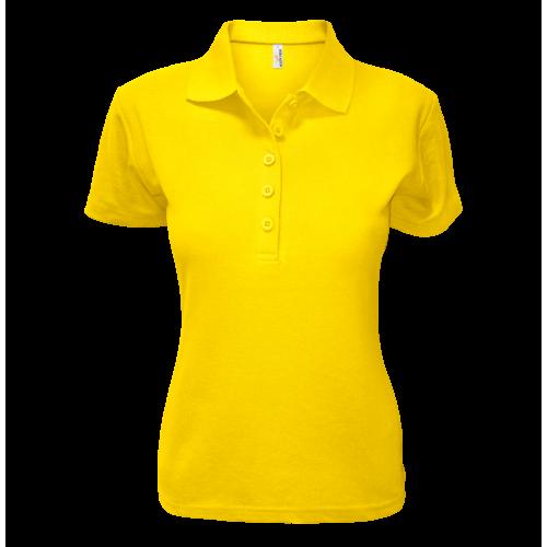 Polokošile AF P dámská - Žlutá