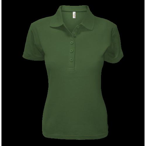 Polokošile AF P dámská - Džungle Zelená