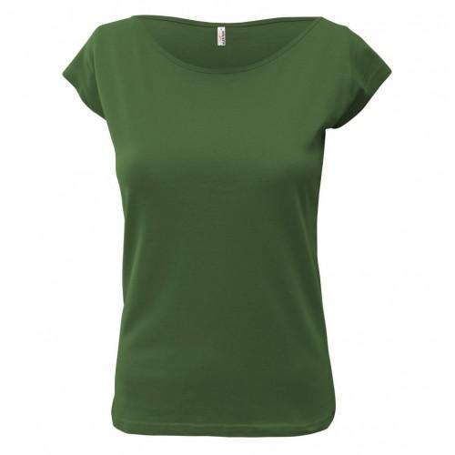 Tričko dámské AF EL - Džungle Zelená