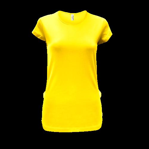 Tričko dámské AF CA - Žlutá