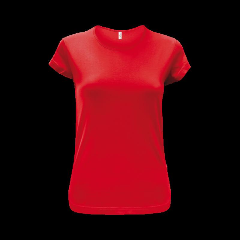 Tričko dámské AF CA - Coca červená