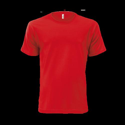 Tričko pánské AF HE - Coca červená