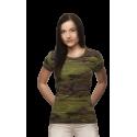 Vojenské tričko - Military Dámské