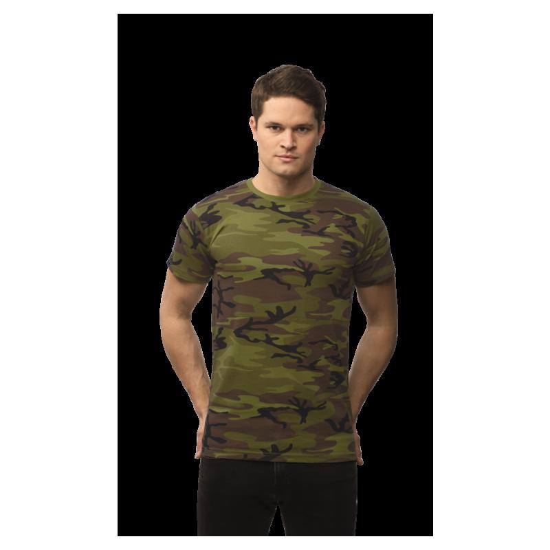19537c6dc Vojenské tričko - Military pánské