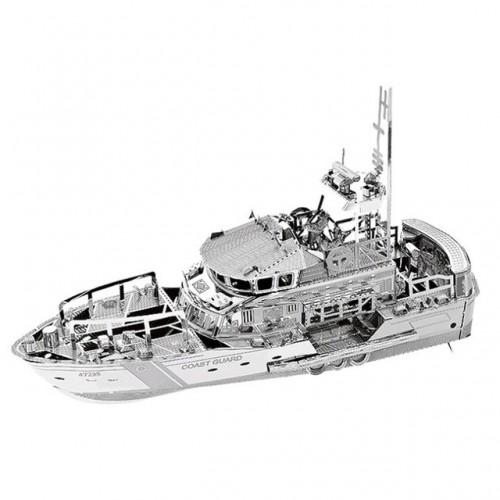 3D ocelová skládačka loď Pobřežní stráž