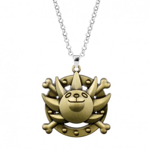 One Piece Luffy kotva - malý náhrdelník