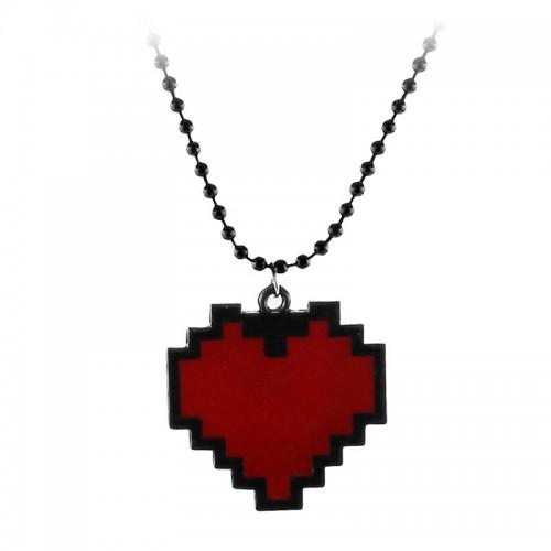 Náhrdelník Retro srdce