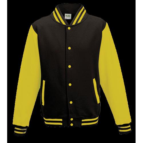 Basketball pánská bunda - Žluto-černá