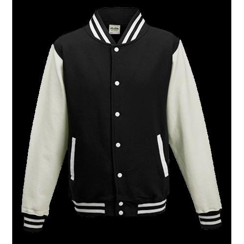 Basketball pánská bunda - Bílo-černá