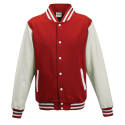 Baseball pánská bunda - Červeno-Bílá