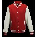 Basketball pánská bunda - Červeno-Bílá
