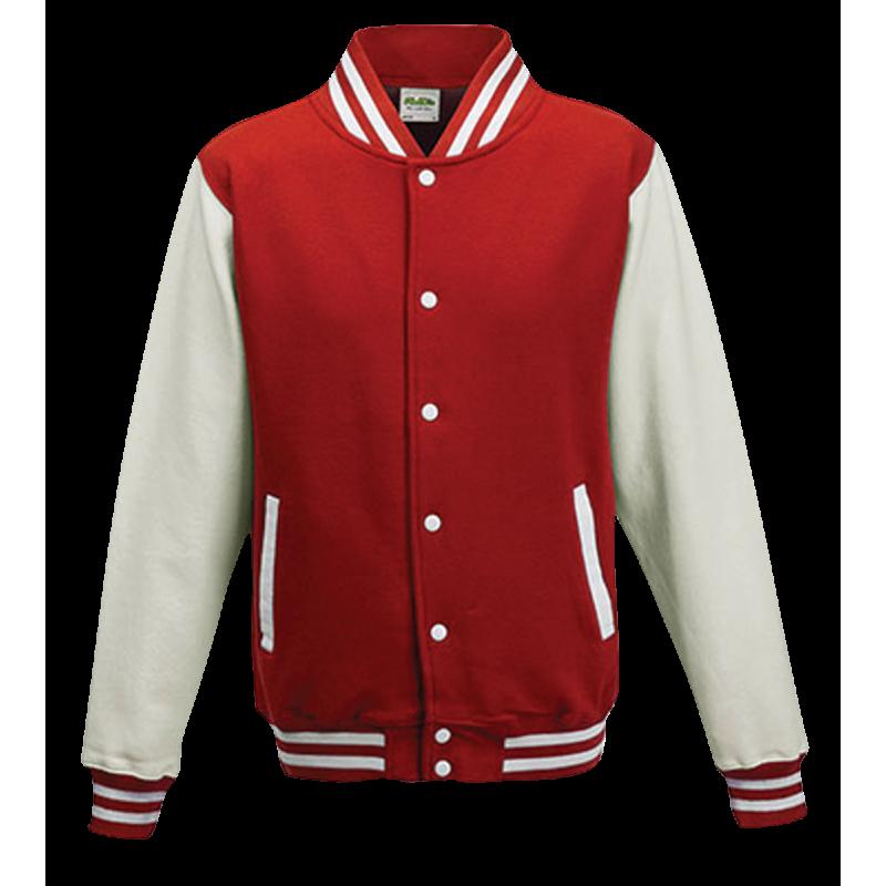 Basketball pánská bunda - Červeno-Bálá