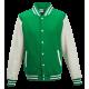 Basketball pánská bunda - Zeleno-Bílá