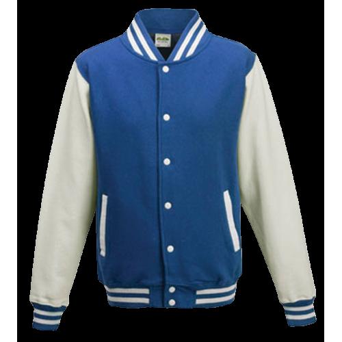 Baseball pánská bunda - Modro-Bílá