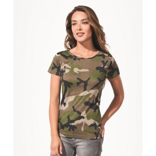 Vojenské tričko SOL'S - Military Dámské