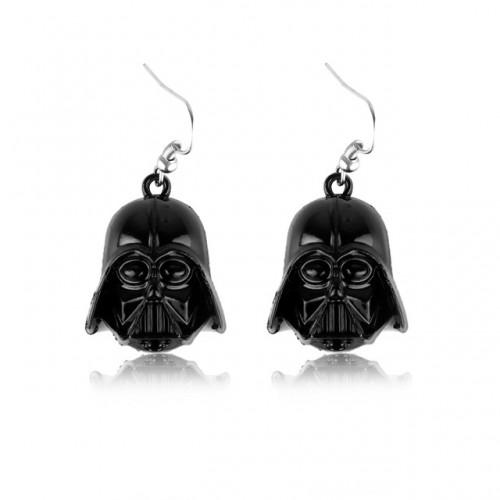 Star Wars Darth Vader náušnice - černé