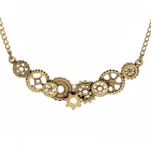 SteamPunk náhrdelník Malý motýl VB
