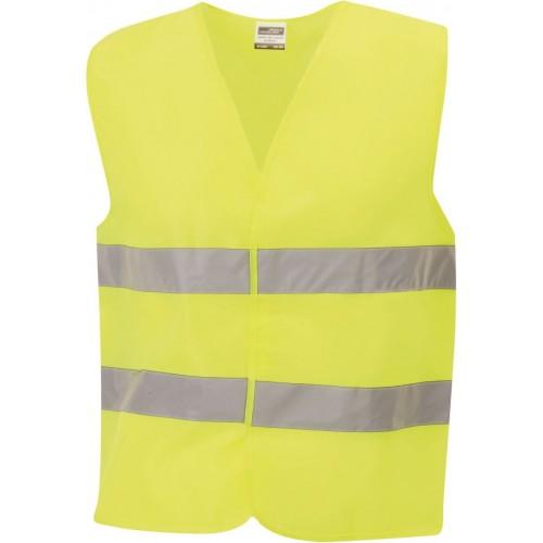 Bezpečnostní vesta JN žlutá EN 471