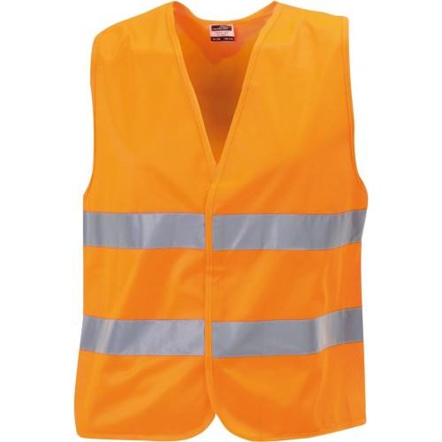 Bezpečnostní vesta JN oranžová dětská