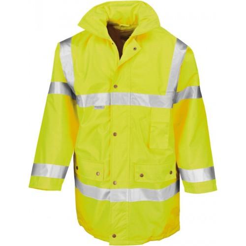 Bezpečnostní bunda žlutá EN 471