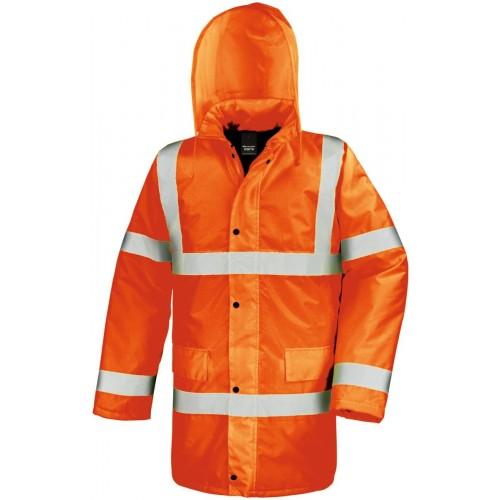 Bezpečnostní kabát oranžová EN 471