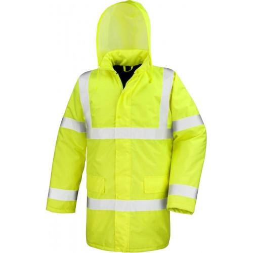Bezpečnostní kabát žlutá EN 471