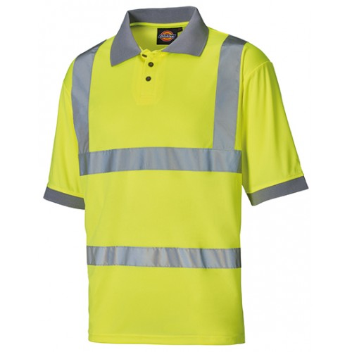 Polo tričko Worker Safety - žluté