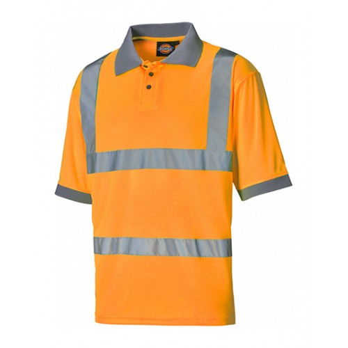 Polo tričko Worker Safety - oranžová