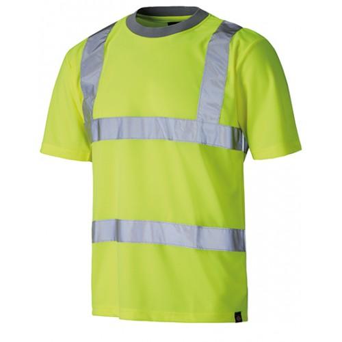 Tričko Worker Safety - žluté