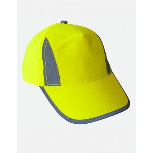 Kšiltovka Enhanced-Viz EN812 Bump Cap žlutá