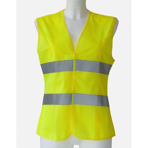 Dámská Bezpečnostní vesta EN ISO 20471 žlutá