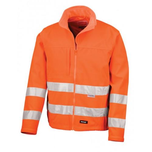 Bezpečnostní bunda, High-Viz Soft Shell oranžová