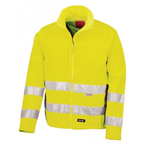 Bezpečnostní bunda, High-Viz Soft Shell žlutá