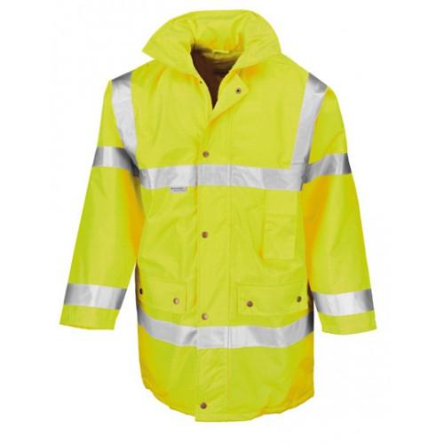 Bezpečnostní bunda ISOEN20471:2013 t3 - žlutá
