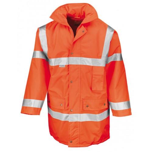 Bezpečnostní bunda ISOEN20471:2013 t3 - oranžová