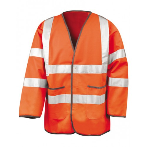 Lightweight Safety Jacket - oranžová