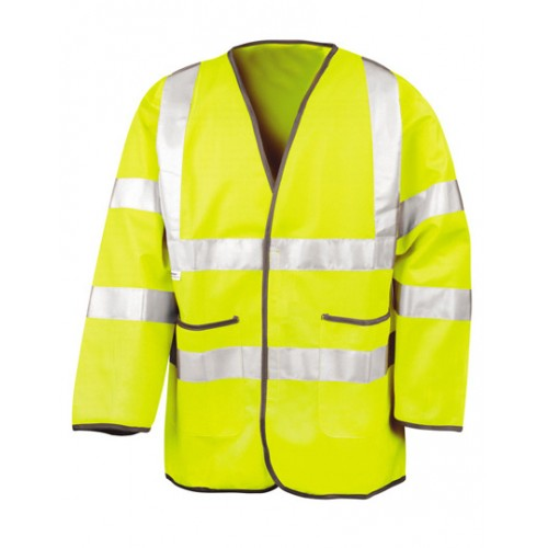 Lightweight Safety Jacket - žlutá