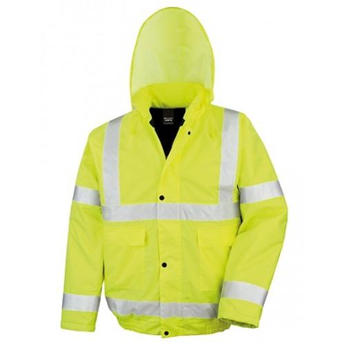 Reflexní zimní bunda žlutá High Viz Winter Blouson