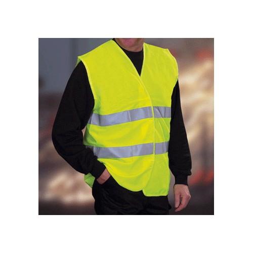 Bezpečnostní vesta Hi Vis 2 EN ISO 20471 žlutá