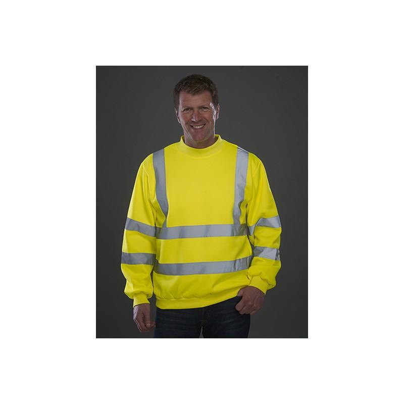 Tričko Hi Vis Long Sleeve T-Shirt žlutá