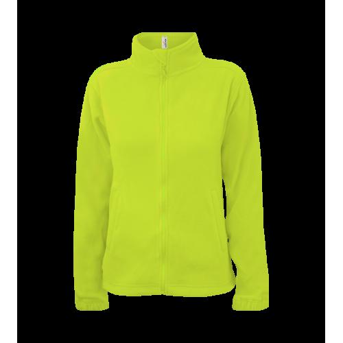 Dámská fleece JA - Limetkově zelená