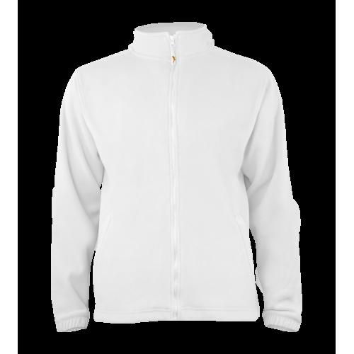 Pánská fleece J403 - Bílá