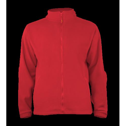 Pánská fleece J403 - Červená