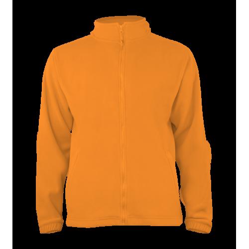 Pánská fleece J403 - Oranžová