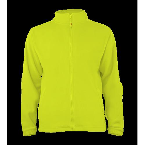 Pánská fleece J403 - Limetkově zelená